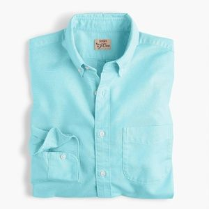 New J Crew Slim Pima Cotton Oxford Shirt Button Up
